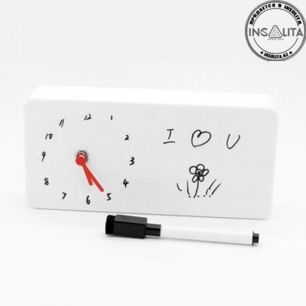 Будильник с маркером Memo clock