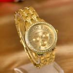 """Кварцевые, наручные, металлические часы """"Geneva"""""""
